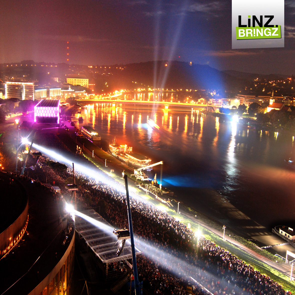 Klangwolke 2015 Linz