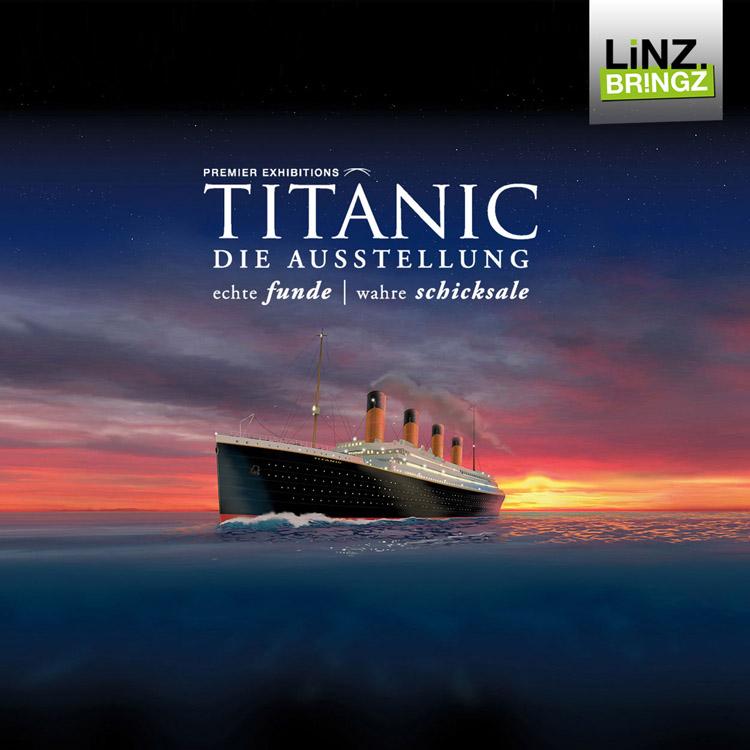 Titanic Ausstellung Linz