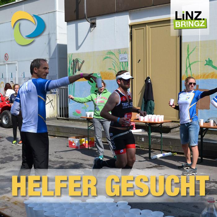Linztriathlon 2016 Helfer gesucht