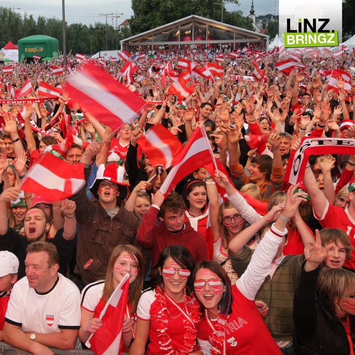 Public Viewing linz 2016