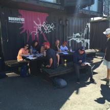 Graffiti Workshop Mural Harbor - LiNZ.BRiNGZ