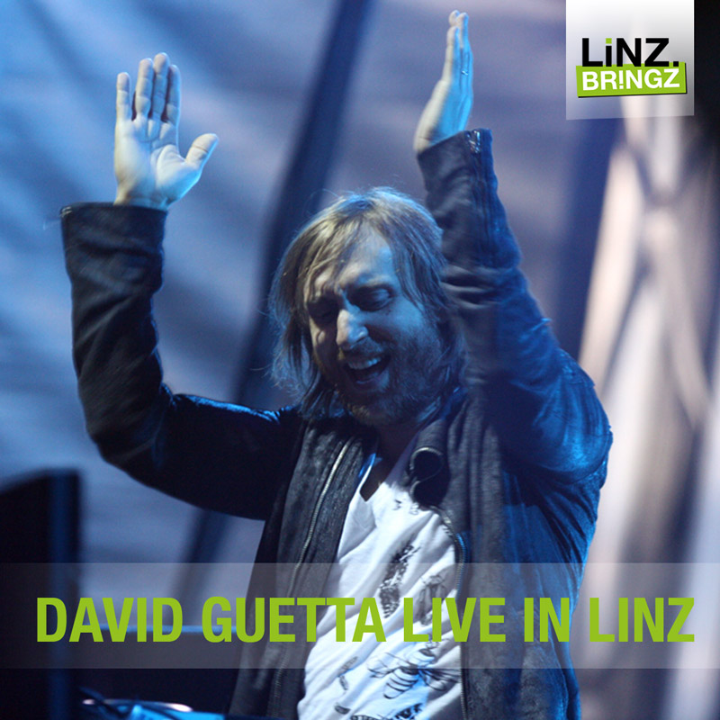 David Guetta live in Linz