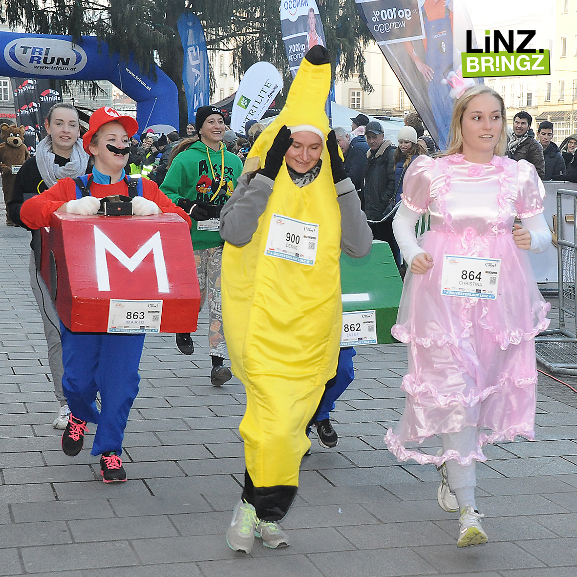 Silvesterlauf Linz 2017